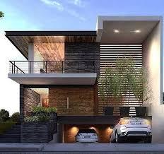 desain rumah minimalis modern 2 lantai ide rumah pinterest