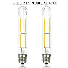 5 Light Bulb Lamp Us 13 99 E17 Intermediate Base 4w Dimmable T6 5 Led Tubular Light Bulbs 120v Led Appliance Lights Led Bulbs Replace 40w Incandescent In Led Bulbs