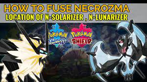 How to get N-Lunarizer & N-Solarizer to fuse Necrozma, Solgaleo, and Lunala  in Sword and Shield - YouTube