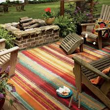 mohawk home avenue stripe indooroutdoor rug  hayneedle