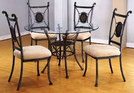 image of small glass kitchen table sets