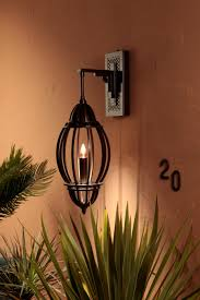 Moroccan Porch Light Moroccan Inspired Open Cage Exterior Marrakesh Lantern By