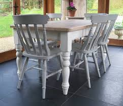 painted cottage furniturechilmark table with cottage chairs hand painted by rectory blue