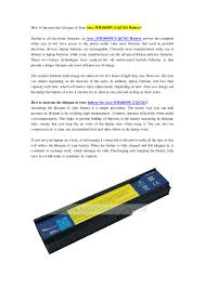 Uklaptopbatteries Co Uk How To Increase The Lifespan Of Your
