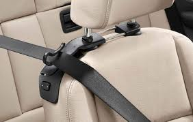 bmw genuine left right headrest seat belt holders set 52302208036