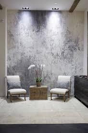 plaster over metallic paint decor