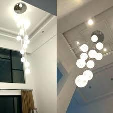 glass ball chandelier modern chandelier marvellous bubble light