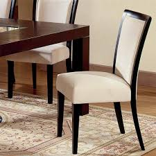 movado fabric parsons dining chair by steve silver upholstered parsons dining chairs