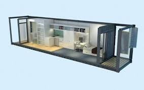 shipping container office plans. Shipping Container Office Design Axonometria House Floor Plans Layout I