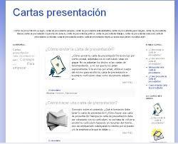 Carta De Presentacion Modelo Modelos De Cartas Modelo De Carta De Presentacion