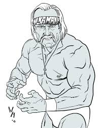 Print hulk coloring pages for free and color our hulk coloring! Wrestling Hulk Hogan Coloring Pages Coloring And Drawing