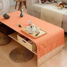 rural tea table cloth dining room