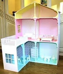 barbie dollhouse furniture wooden playhouse hand made plywood with diy0 diy
