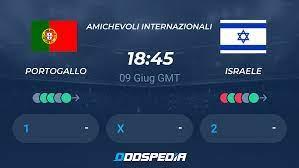 Portogallo v Israele Risultati in Diretta e Streaming + Quote