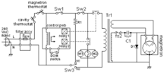 microwave oven circuit diagram microwave ovens is a kitchen appliance description circuit diagrams java animation suitable for young people microwave oven fault diagnosis microwave oven