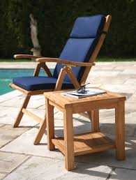 unfinished wooden outdoor chair