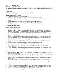 Accounting Resume Objective 15 Staff Accountant Uxhandy Com