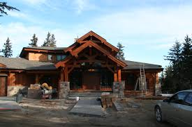 Log Stone Timber Frame Homes Log Timber Frame Cottage  log home    Log Stone Timber Frame Homes Log Timber Frame Cottage