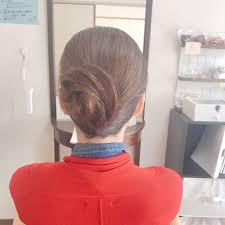 Moriyama Mamiさんのヘアスタイル 夜会巻きアレンジ大 Tredina
