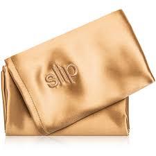 slip silk pillowcase. Slip Queen Pure Silk Pillowcase - Gold
