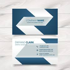 Free Design Business Cards Creative Simple Business Card Design Vector Free Download