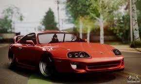 Toyota Supra Stock for GTA San Andreas