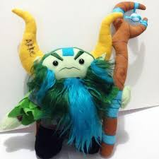dota 2 nature s prophet plush with akke signature no ad