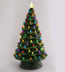 Battery Operated Lights Christmas Outdoor Indoor Outdoor Battery Operated Lighted Ceramic Christmas Tree