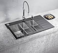 Kitchen sinks and faucets Modern Modern Kitchen Sink And Faucet Designs Kitchen Solution Stainless Steel Kitchen Sinks And Modern Faucets Functional Kitchen
