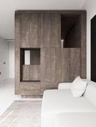Minimalistisch Warm Interieur Van Een Klein Appartement Van 44m2