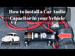 vote no on replacing my car battery capacitors 12v how to install a car audio capacitor in your vehicle