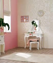 Praxis Een Elegante Kamer Met Dit Witte Kaptafeltje De Combinatie