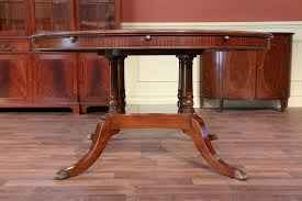 antique round dining table on antique round dining room table