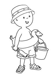 Bambino Con Paletta E Secchiello Disegni Da Colorare Mare Disegni