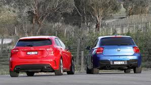 2013 BMW M135i vs Mercedes-Benz A45 AMG Comparison Test by Car ...