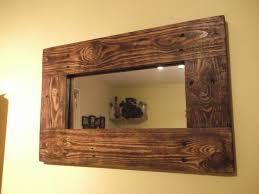 Top 58 Beautiful Reclaimed Wood Mirror Large Rustic Bathroom Vanity
