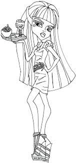 Small Picture Monster High Howleen Coloring Pages GetColoringPagescom