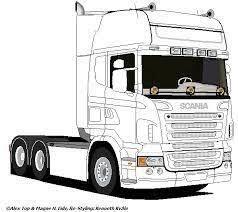 Resultado De Imagem Para Scania R Tekening Tractor Kleurplaten