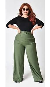 Collectif Plus Size 1940s Style Olive Green Gertrude