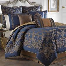 ... Croscill Closeout Bedding Discontinued Croscill Comforter Sets Monroe  Midnight Blue By And Brown King Full Size