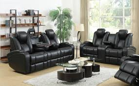 reclining living room furniture sets. Black Leather Power Reclining Sofa And Loveseat Set Living Room Furniture Sets