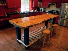 custom made kitchen tables unique handmade custom island table by jeffrey coleson art and hand made
