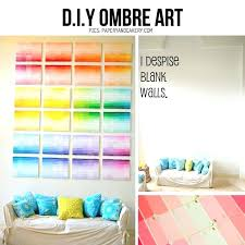 awesome paint swatch wall ideas art from samples finishes