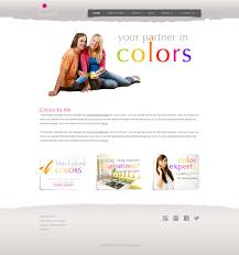 Free Website Template Cool Paint Republic Color Harmony Web Template Free Website Templates