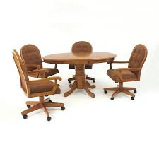 awesome kitchen table chairs casters kitchen table sets