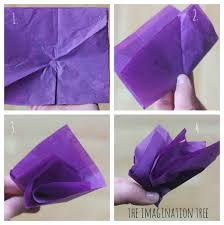 Tissue Paper Flower How To Make Tissue Paper Flowers The Imagination Tree