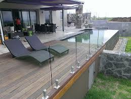 frameless glass deck railing systems unthinkable attractive balcony balcony ideas home ideas 4