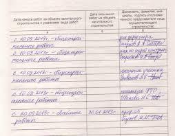 Пример заполнения общего журнала работ электронная версия В раздел 2 вносятся сведения о всех специальных журналах работ которые велись в ходе строительства журнал авторского надзора журнал забивки свай