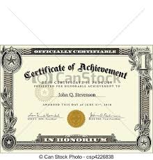 Certification Template Vector Official Certificate Template Vector Highly Detailed