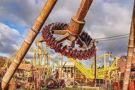 Paultons Park - Tornado Springs rides includes Cyclonator.